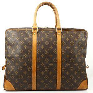 Auth Louis Vuitton Portefeuille Laptop #4012L16
